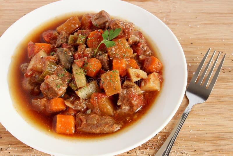 Stew βόειου κρέατος στοκ εικόνα με δικαίωμα ελεύθερης χρήσης
