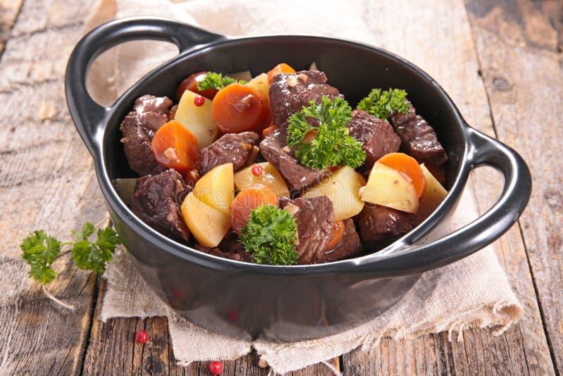 Stew βόειου κρέατος στοκ φωτογραφίες με δικαίωμα ελεύθερης χρήσης