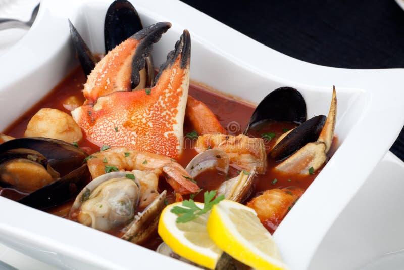 stew θαλασσινών καβουριών ν&upsilo στοκ φωτογραφία με δικαίωμα ελεύθερης χρήσης