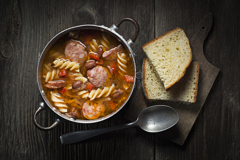 Stew φασολιών στοκ εικόνες