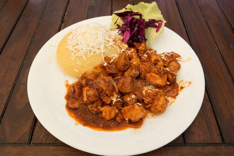 Stew χοιρινού κρέατος στοκ εικόνες