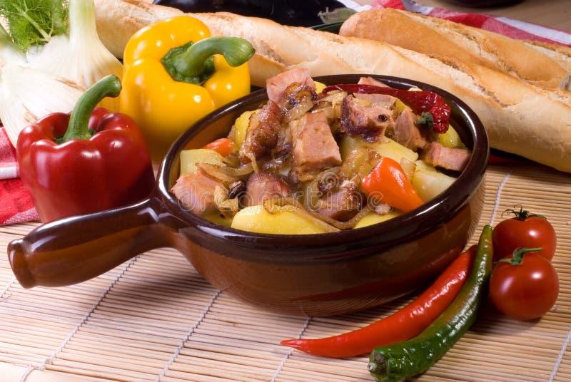 stew свинины стоковое фото