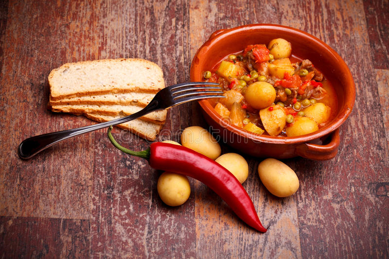 stew страны стоковое фото rf