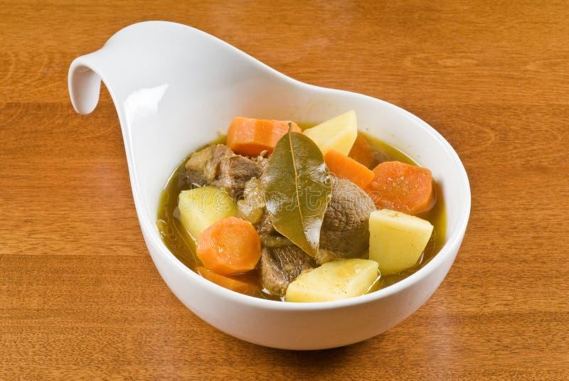 stew för currygetmeat royaltyfria foton