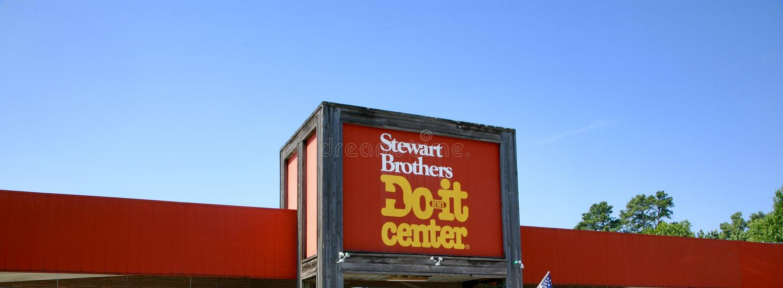 Download Stewart Brothers Do It Center Editorial Image   Image: 94281010