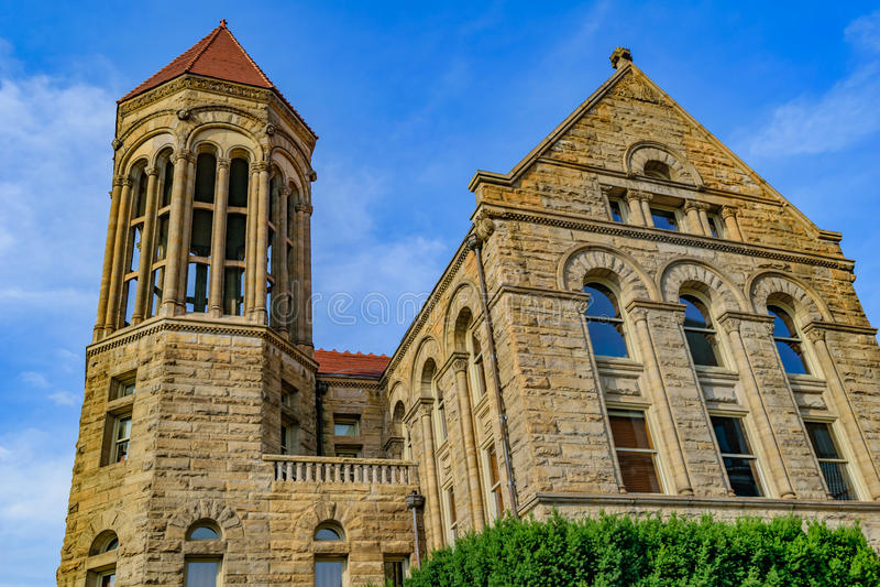 Stewart Hall em Virginia University ocidental fotos de stock royalty free