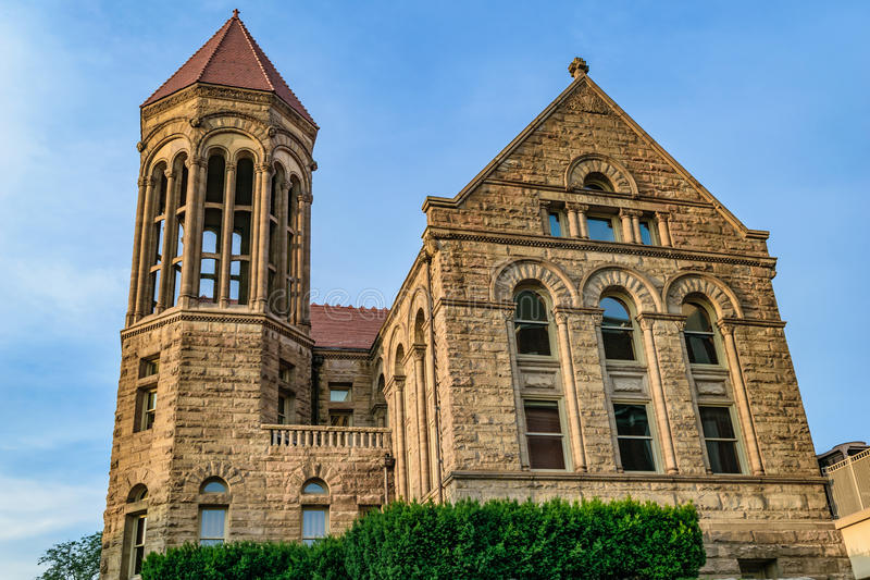 Stewart Hall em Virginia University ocidental imagem de stock royalty free