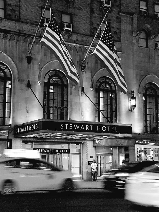 Stewart Hotel stockfotos