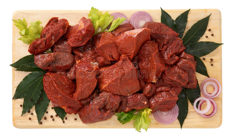 Stewed koński mięso obrazy royalty free