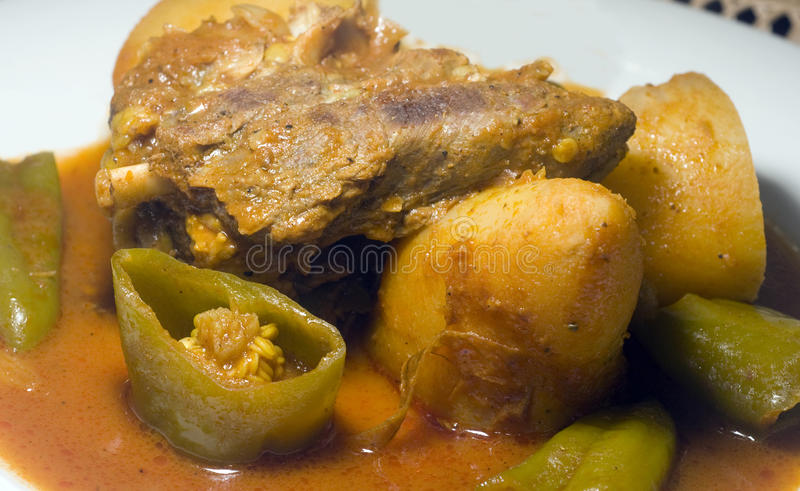 Download Stewed Lamb With Vegetables Tunis Tunisia Stock Photo - Image of stew, gourmet: 26133722