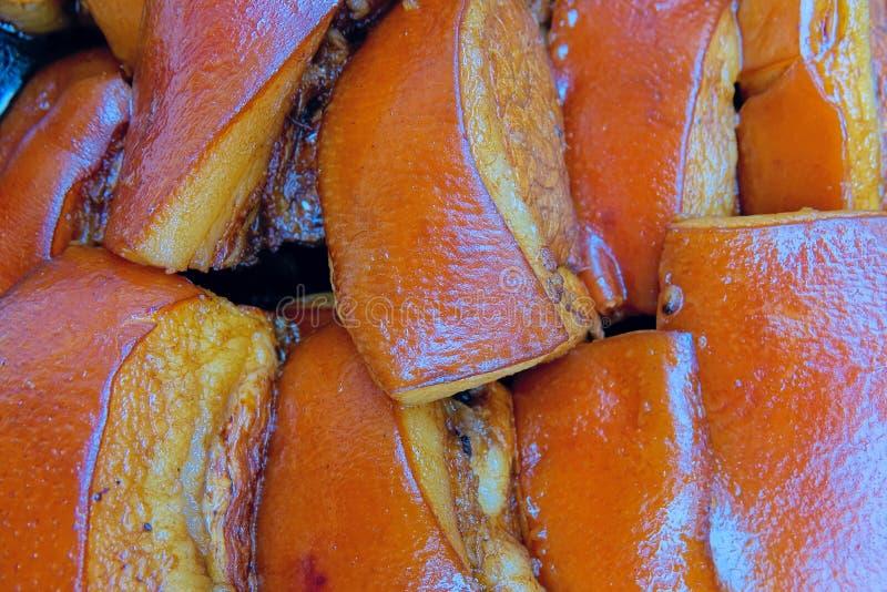 stewed pork arkivbild