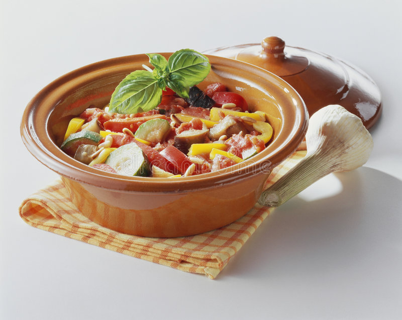 stewgrönsak royaltyfria bilder