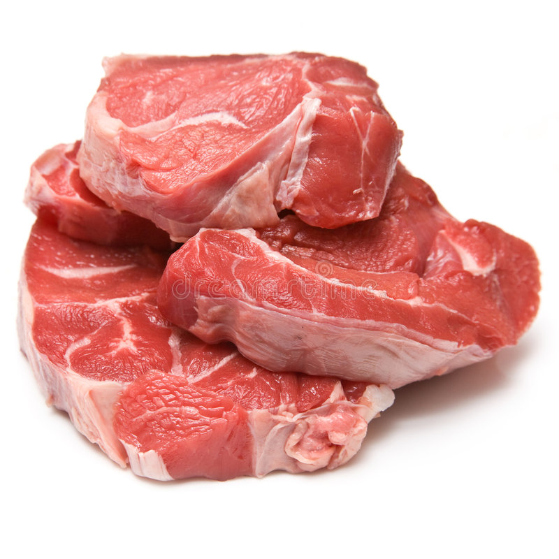 Stewing steak stock photos