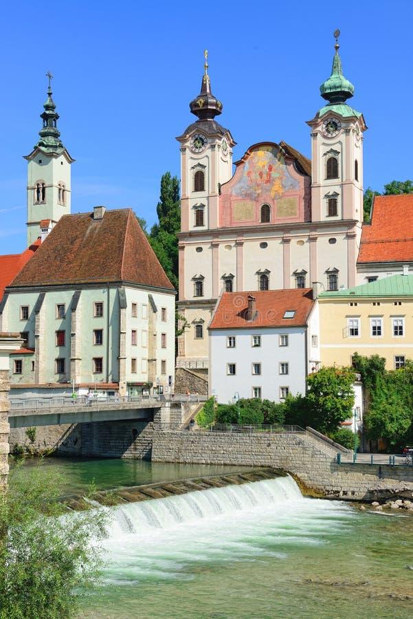 Steyr, górny Austria zdjęcia royalty free