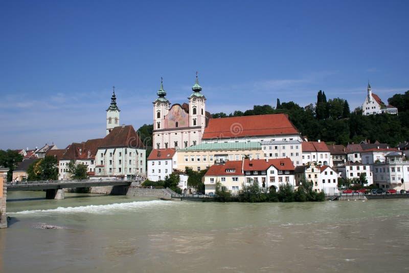 Steyr - Oostenrijk stock foto's