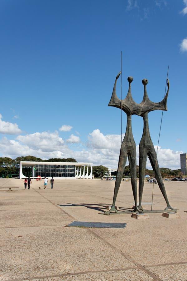 STF en Brasilia fotos de archivo libres de regalías