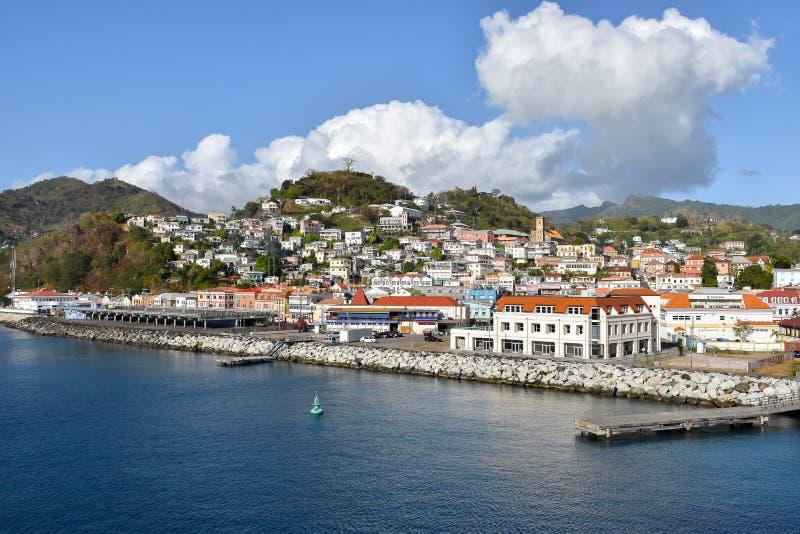 StGeorge, Grenada foto de archivo