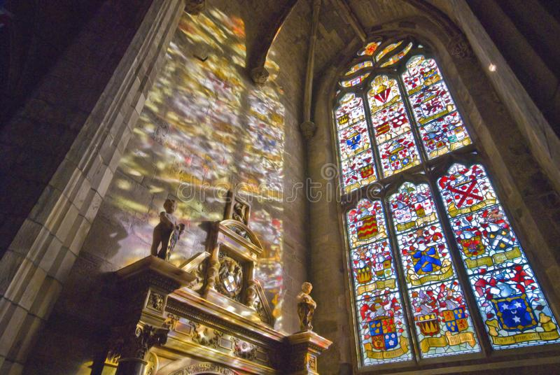 StGiles cathedral stock photo