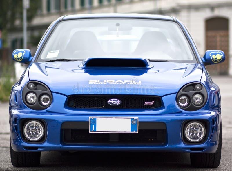 Sti d'impreza de Subaru images libres de droits