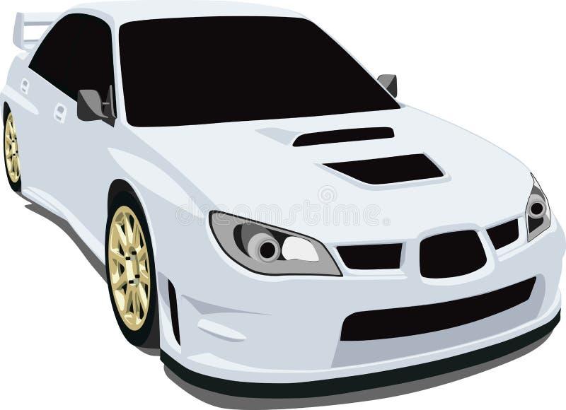 Sti van Subaru royalty-vrije illustratie