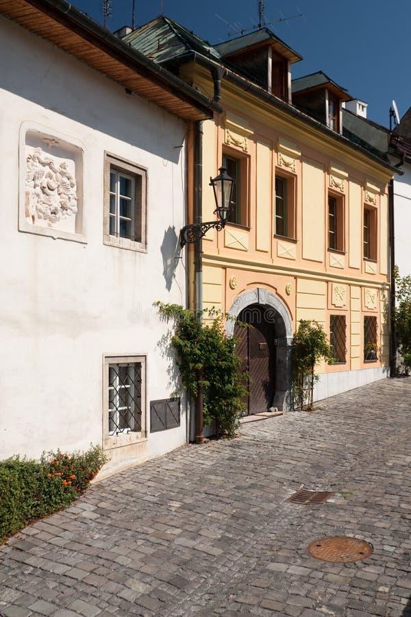 Stiavnica de Banska fotografía de archivo libre de regalías