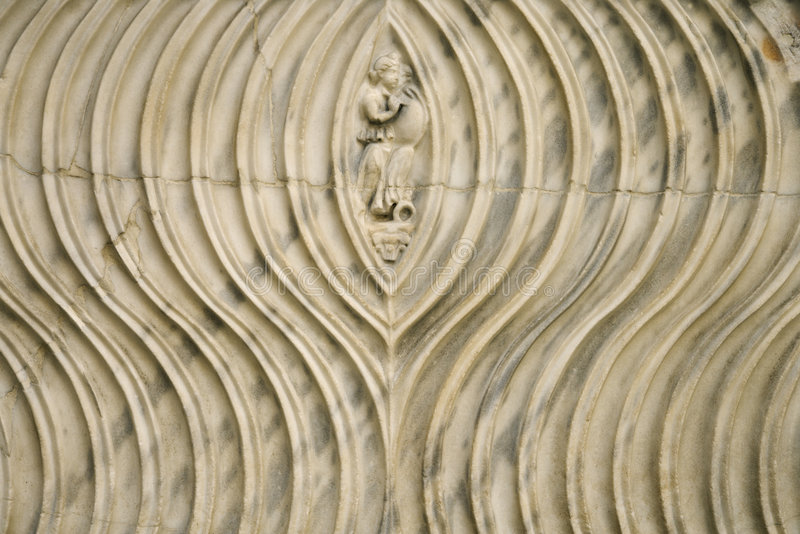 Stich umgeben durch Zeilen in Rom stockbilder