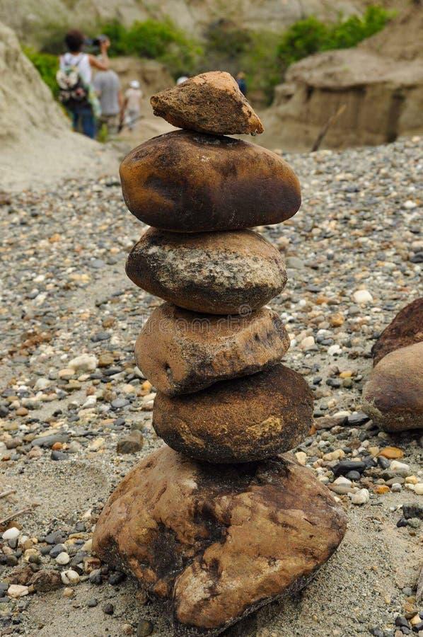 Stichting van rotsen stock fotografie