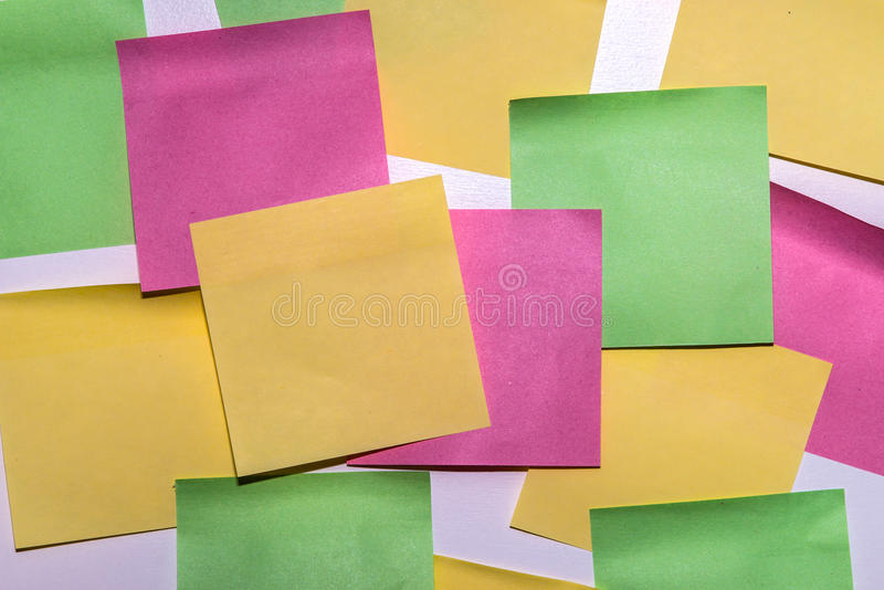 Download Stick Note Paper On Isolated White Background Stock Photo - Image: 83705250