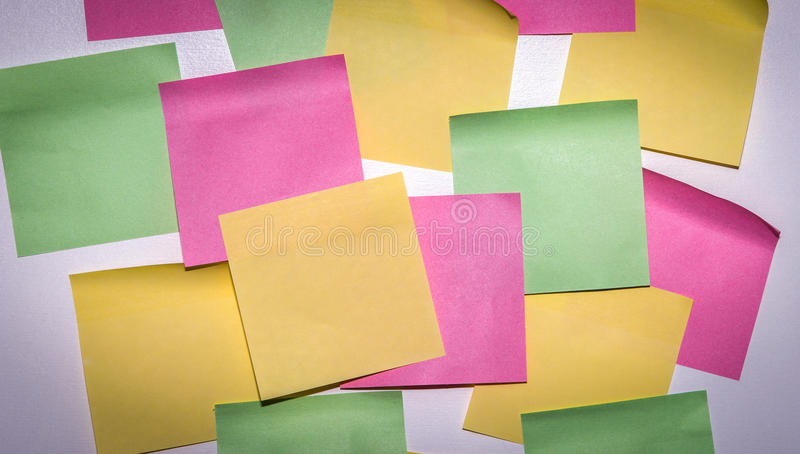 Download Stick Note Paper On Isolated White Background Stock Image - Image: 83705375