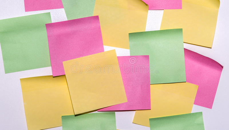 Download Stick Note Paper On Isolated White Background Stock Image - Image: 83706125