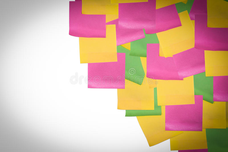 Download Stick Note Paper On Isolated White Background Stock Image - Image: 83706443