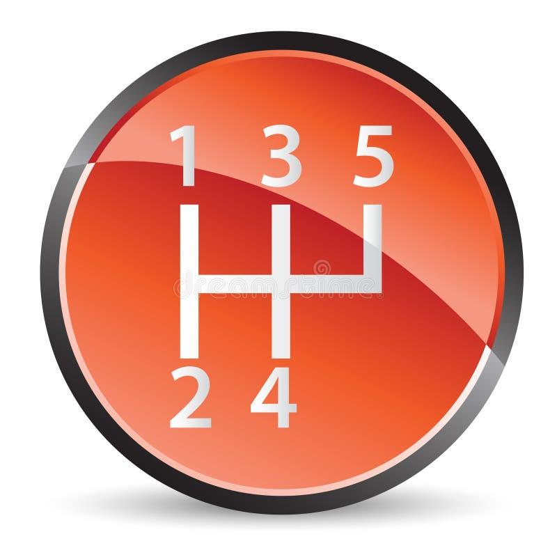 Download Stick shift icon stock vector. Image of automobile, interior - 14145984