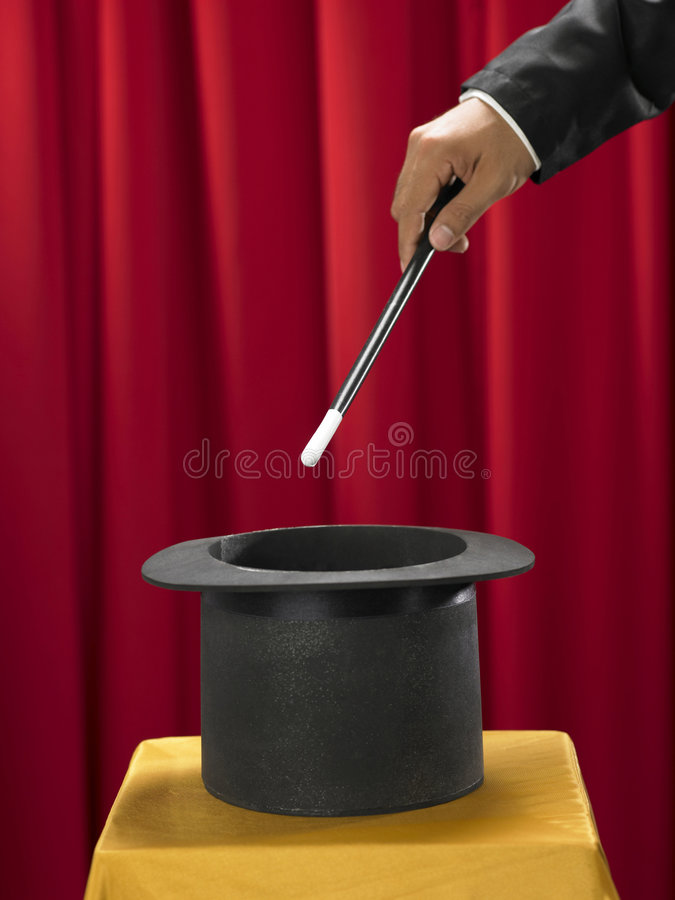 Download Stick and top hat stock photo. Image of holding, success - 8249958
