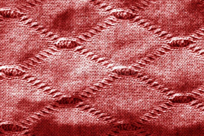 Sticka textur i röd signal arkivbilder