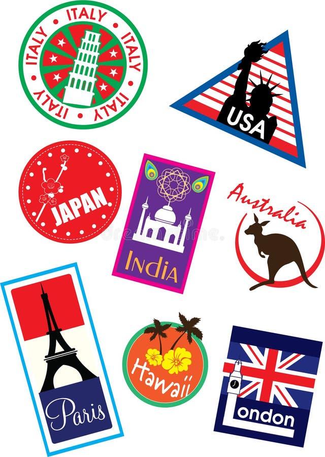 Sticker vector illustration