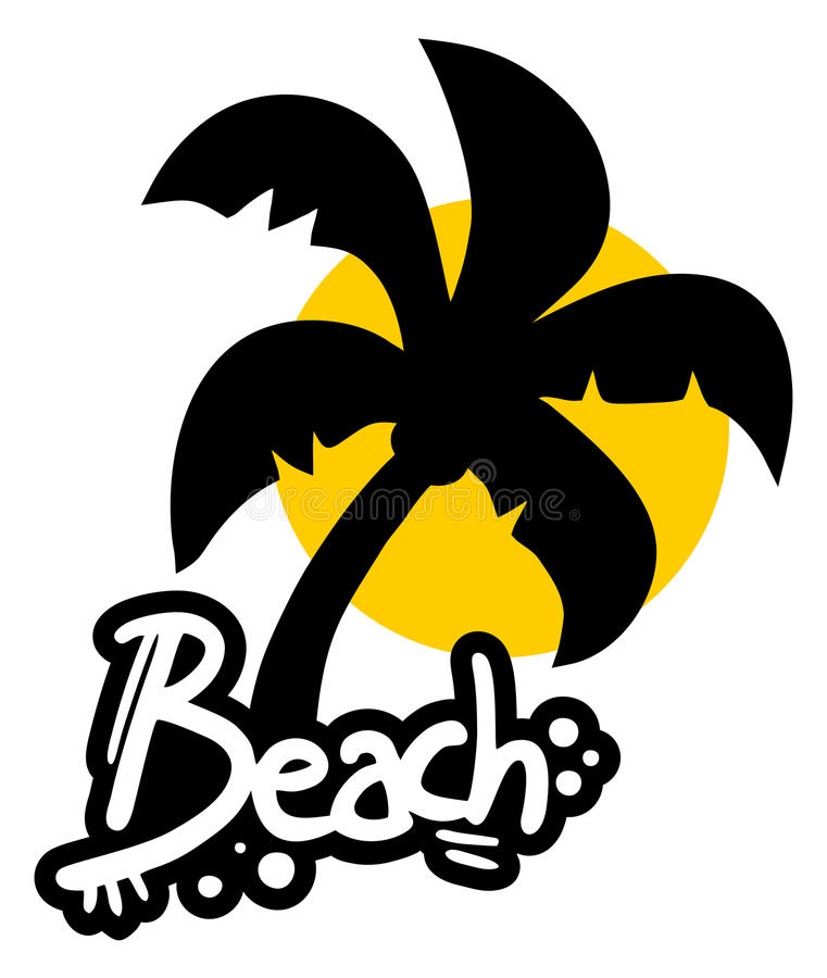 Download Sticker beach stock photo. Image of holidays, recreation - 32279066