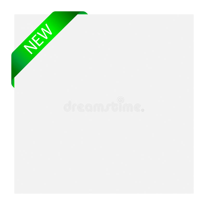 Sticker label. Vector ribbon label for web design use vector illustration