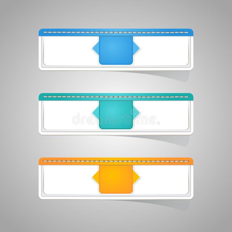 Download Sticker Label Paper Colorful Set Stock Vector - Illustration of icon, illustration: 43231439