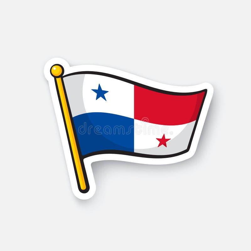 Download sticker national flag of panama stock vector illustration of image panama 91044852