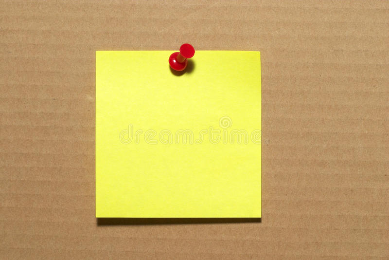 Sticker Note Stock Photography