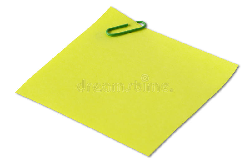 Download Sticker note stock photo. Image of macro, clip, blank - 11376738