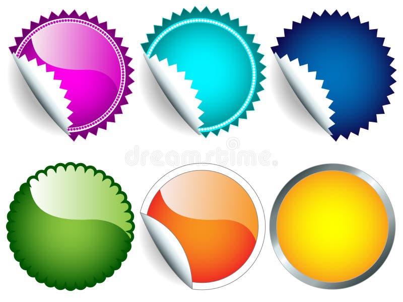 Sticker Set Stock Image