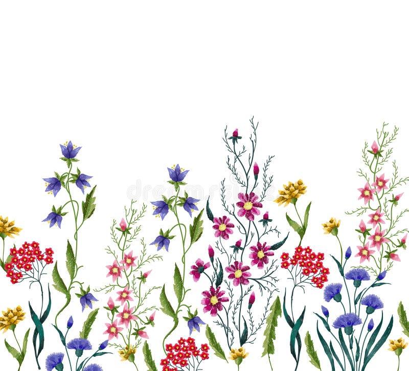 Download Stickereiblumen vektor abbildung. Illustration von ethnisch - 90237657