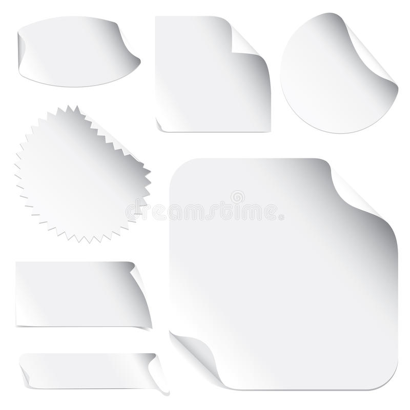 Stickers royalty free illustration