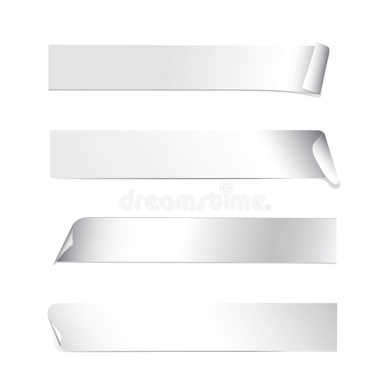 Stickers vector illustratie