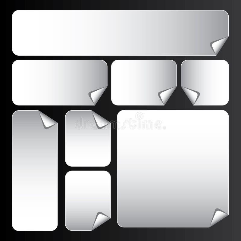 Stickers_4 illustrazione di stock