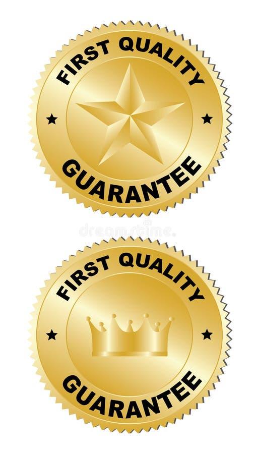 Stickers - Eerste kwaliteit stock illustratie