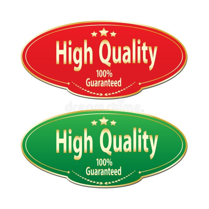 Stickers - Hoge kwaliteit vector illustratie