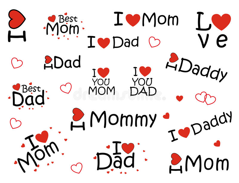 I Love Dad And Mom