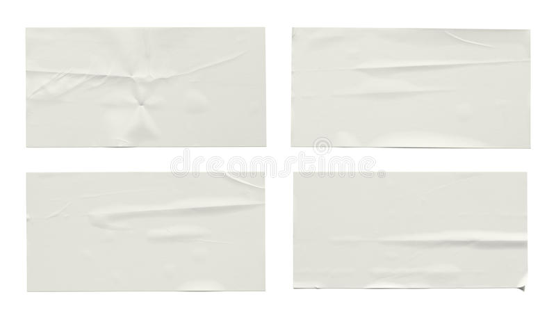 Download Stickers label stock photo. Image of label, crumpled - 42564632